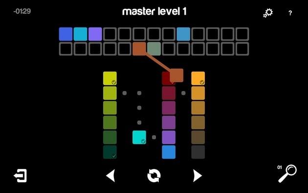 App de lógica Blendoku