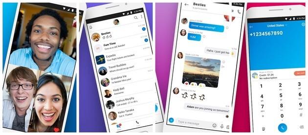 Mensagens instantâneas e videochamada com o Skype