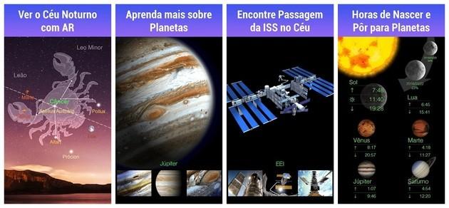 Astronomia com o Star Walk