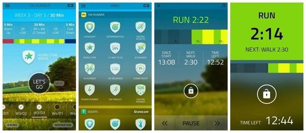Monitorar corrida com o 10K Runner