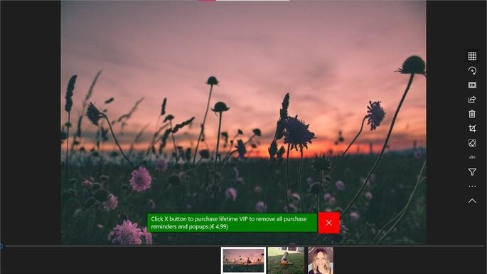 Captura de tela do visualizador de fotos para Windows 123 Photo Viewer