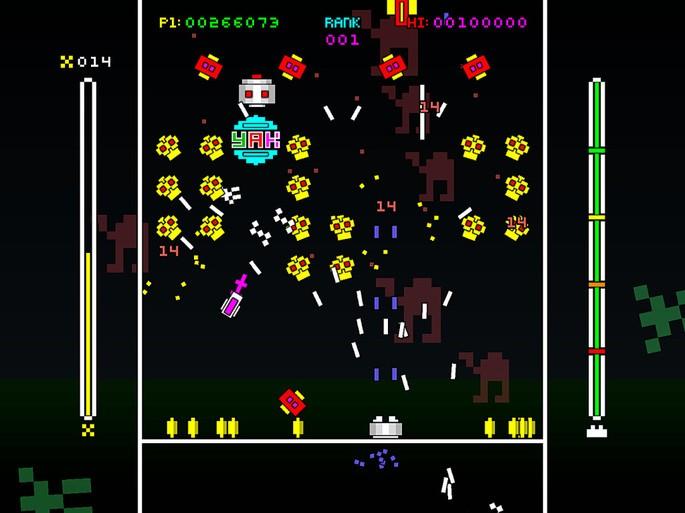 Imagem de divulgação do game arcade 1982