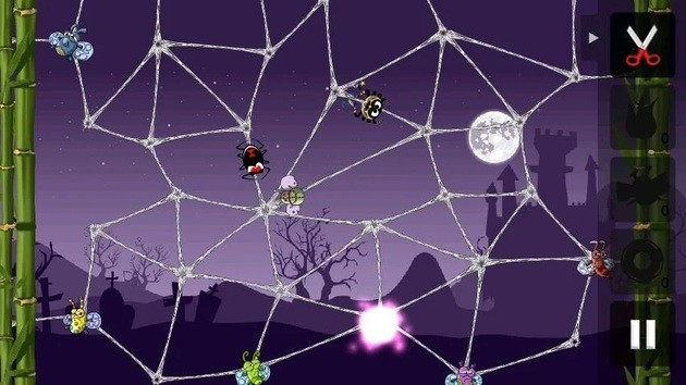 App de lógica Greedy Spiders