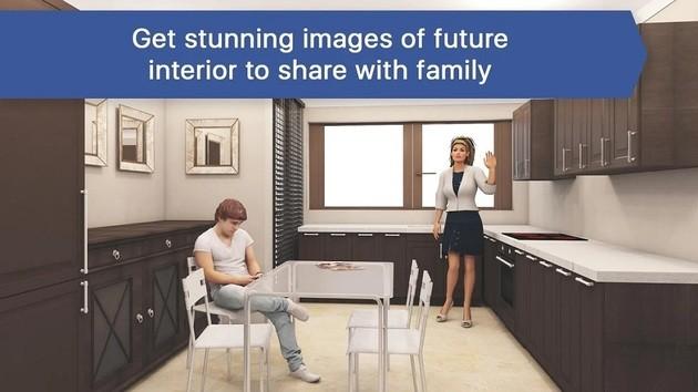 Decorar a casa com o 3D Casa e Interior