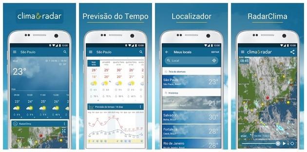 Meteorologia e previsão do tempo com o Clima & Radar