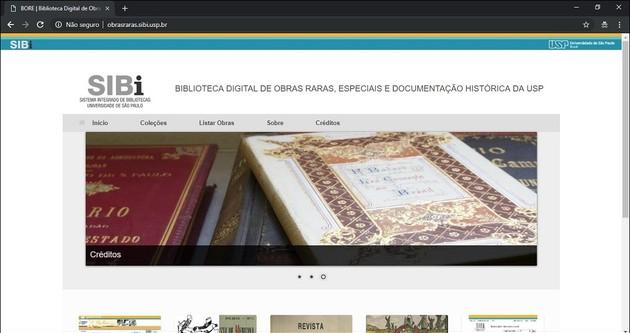 Baixar livros grátis legalmente nas Obras Raras da Universidade de São Paulo USP