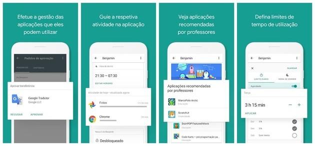 Segurança com o Google Family Link