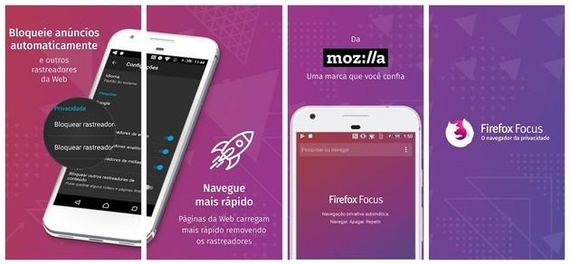 Segurança com o Firefox Focus