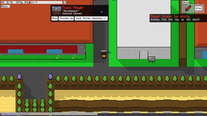 Imagem de divulgação do jogo 8BitMMO