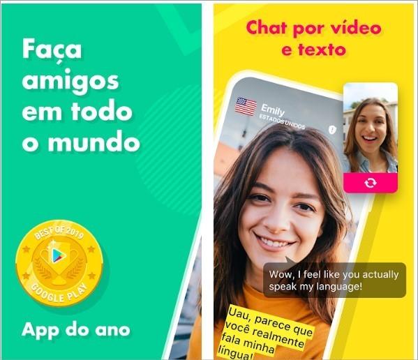 App para fazer amizades com pessoas de todo mundo Ablo
