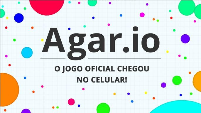 Imagem de divulgação do jogo Agar.io