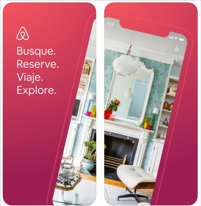 Imagem de divulgação do airbnb
