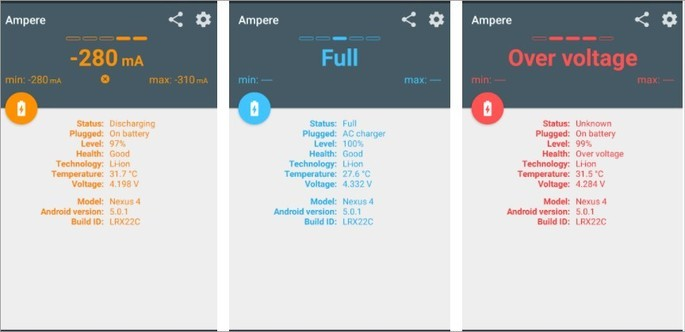 Imagem de divulgação do app Ampere