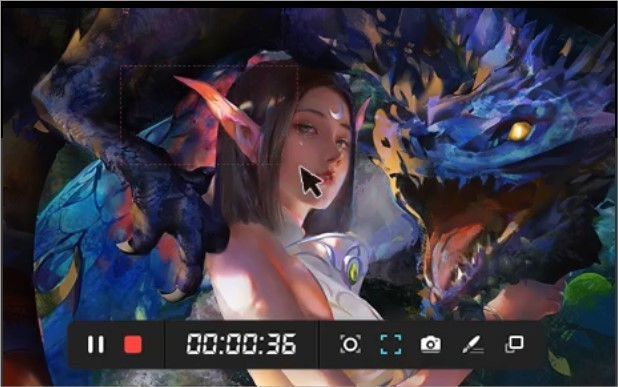 Imagem de divulgação do programa de gravação de tela ApowerRec