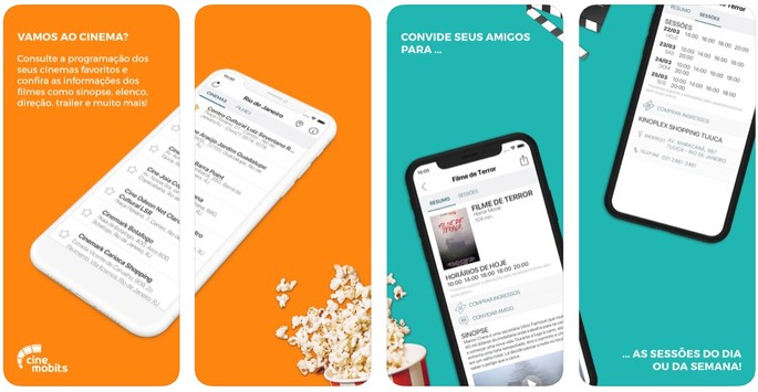 App cinema Cine Mobits