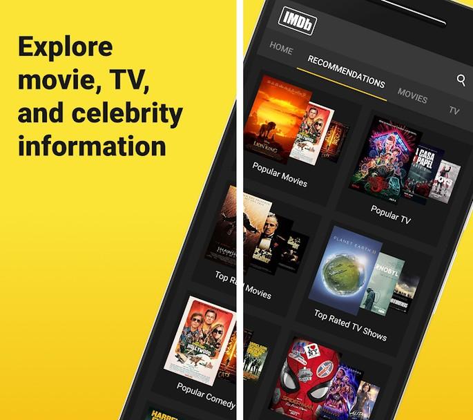 App cinema IMDb