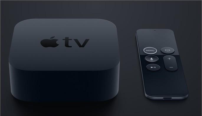 Imagem de divulgação da Apple TV