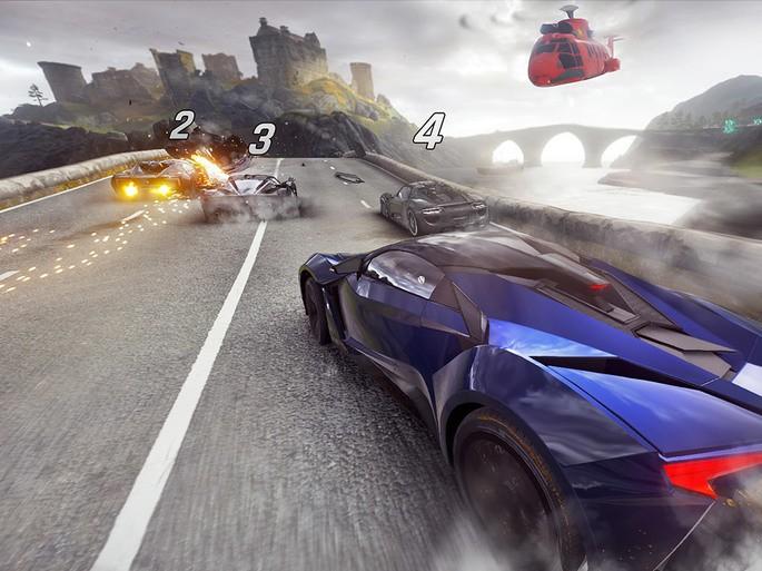 Imagem de divulgação do jogo de corrida para PCAsphalt 9: Legends