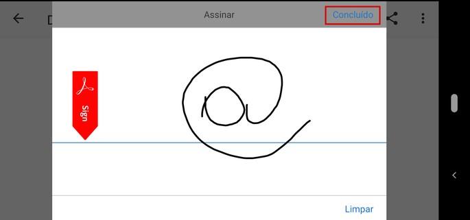 Como assinar documento pelo celular com o app da Adobe