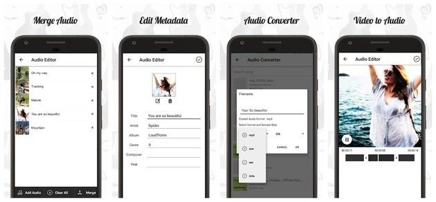 Edição de áudio com o Audio Editor
