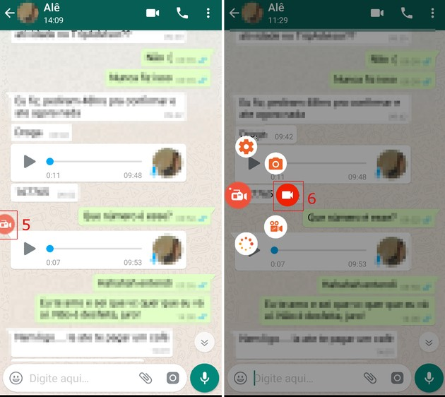 Como compartilhar o áudio do WhatsApp no Instagram Stories
