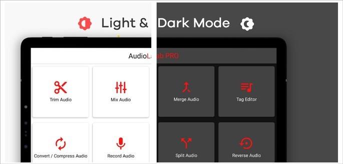 App de edição de áudio AudiLab