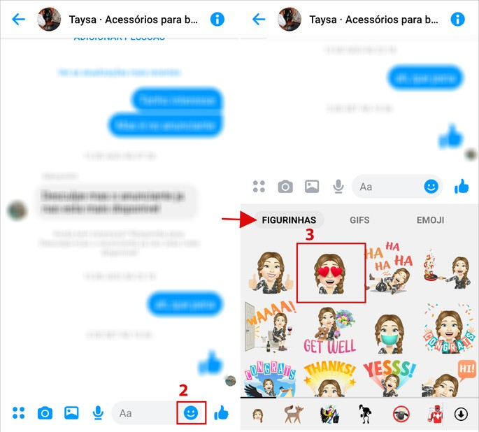 Como usar o avatar do Facebook no Messenger