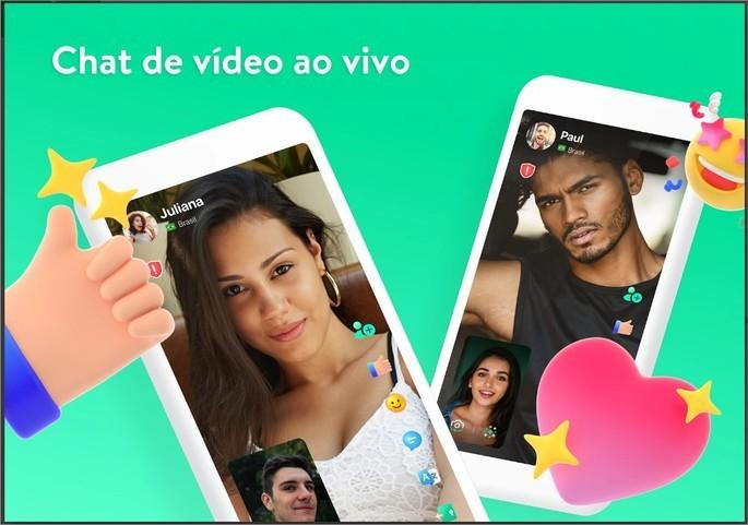 Imagem de divulgação do app de relacionamento Azzar