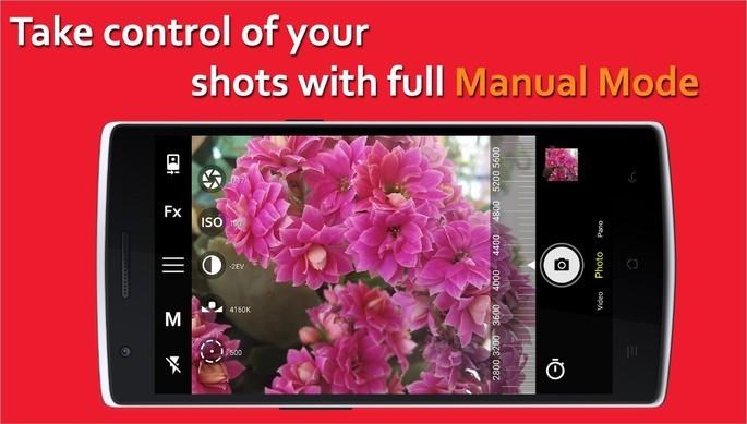 Imagem de divulgação do app Bacon Camera, que adiciona funções à câmera do celular