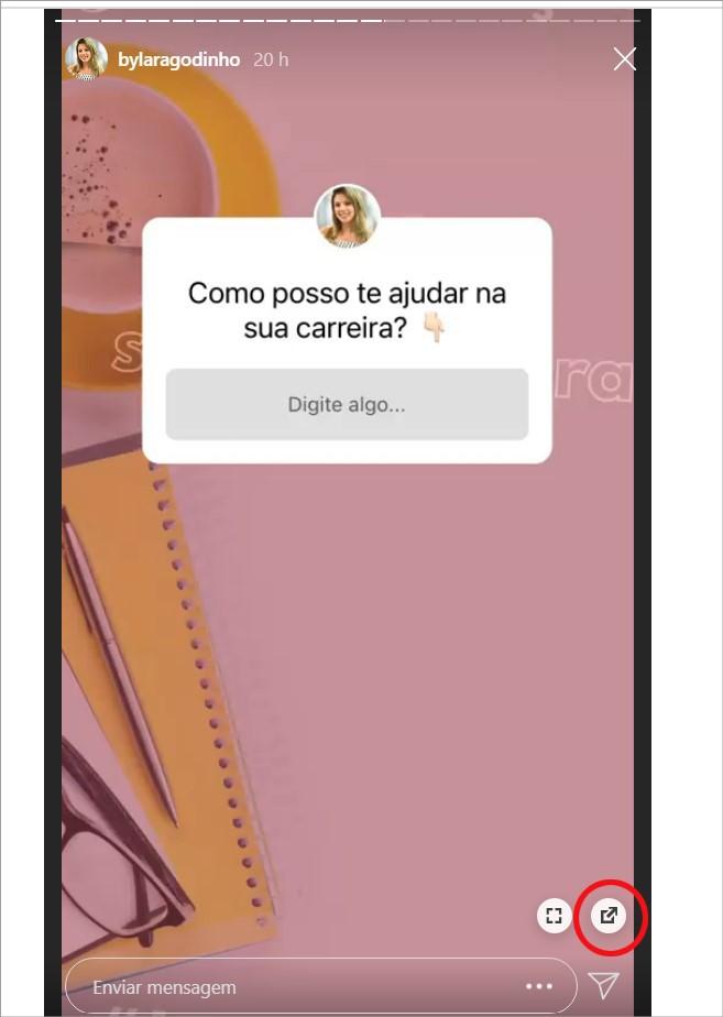 Como baixar stories do Instagram no Chrome
