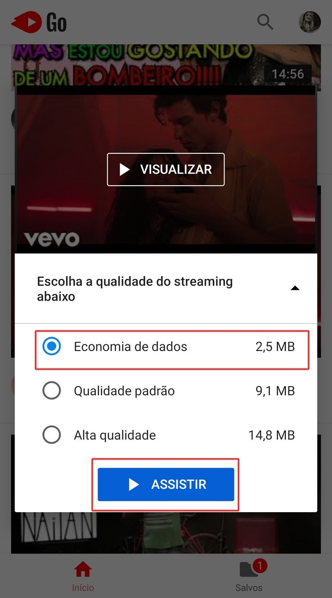 Baixar vídeo YouTube