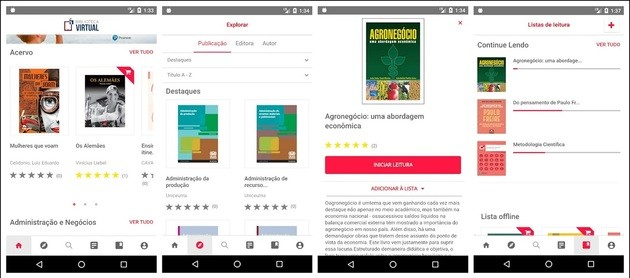 Estudar na Biblioteca Virtual Pearson