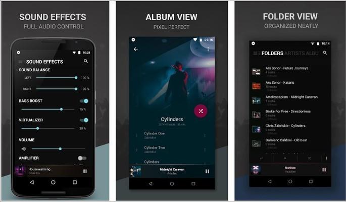 Imagem de divulgaçao do app BlackPlayer