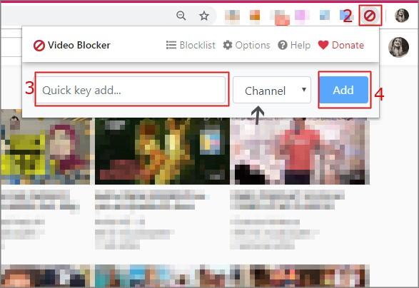 Como bloquear um canal no YouTube