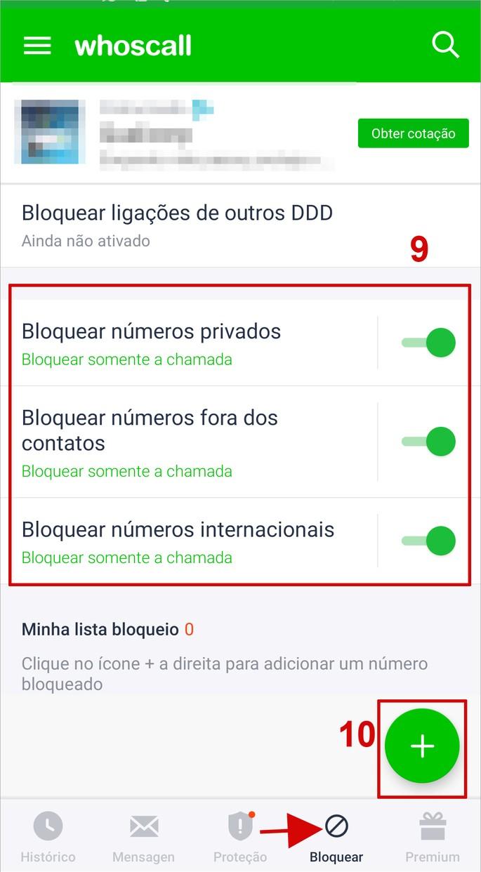 Como bloquear chamadas como o app Whoscall no Android