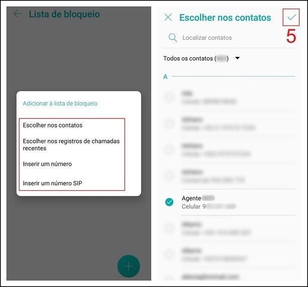 Como bloquear mensagens de texto de números indesejados
