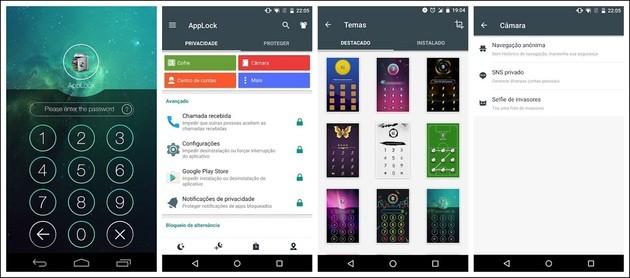 Colocar senha em aplicativos com o Bloqueio (AppLock)