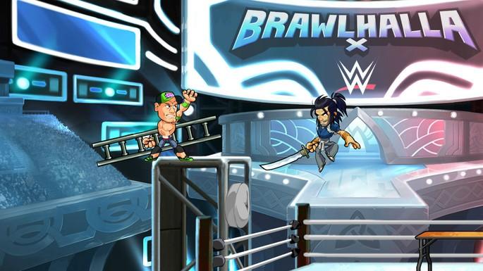 Imagem de divulgação do game de luta multiplayer Brawlhalla