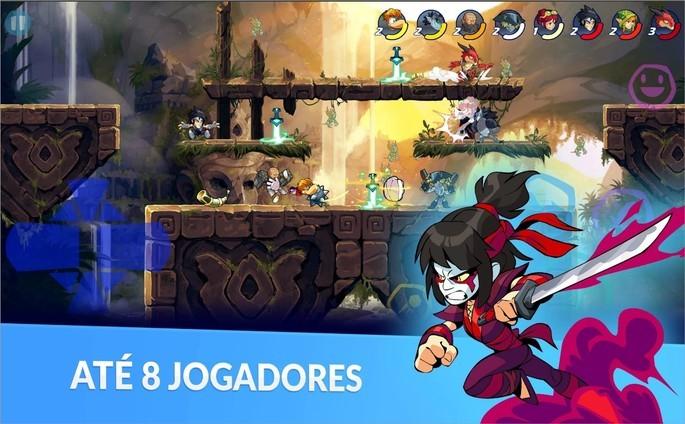 Imagem de divulgação do jogo de luta Brawlhalla
