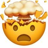 Emoji de cabeça explodindo