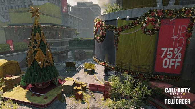 Imagem de divulgação do jogo Call of Duty: Mobile
