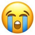 Emoji de carinha chorando