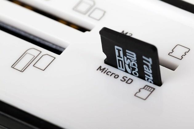 Efetar e formatar cartão de memória MicroSD