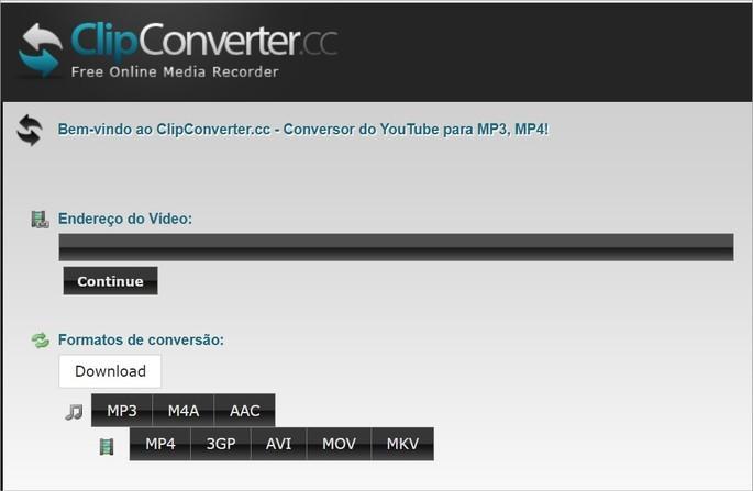 Site ClipConverter