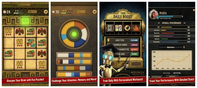 App de lógica Clockwork Brain Training