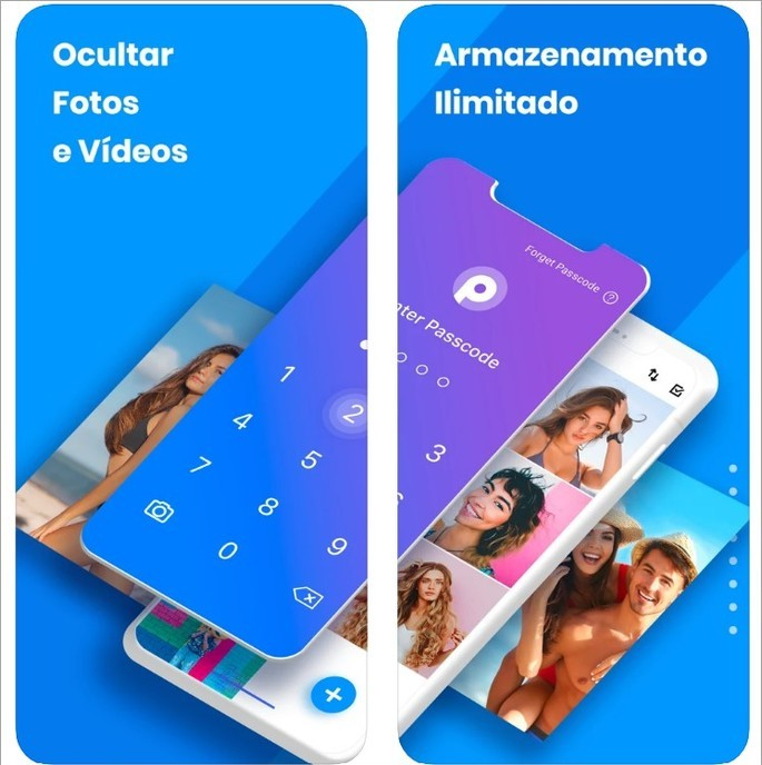 Cofre de fotos: proteger fotos está disponível para iPhone