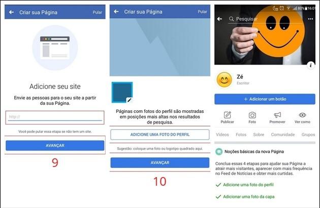 Como criar uma página no Facebook pelo celular