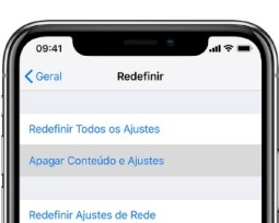 Como resetar o iPhone e restaurar as configurações de fábrica