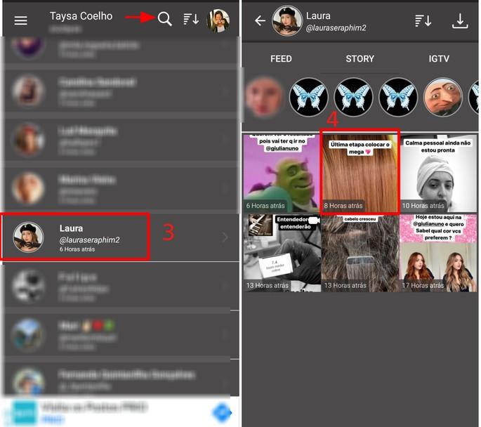 Como compartilhar stories do Instagram no Android