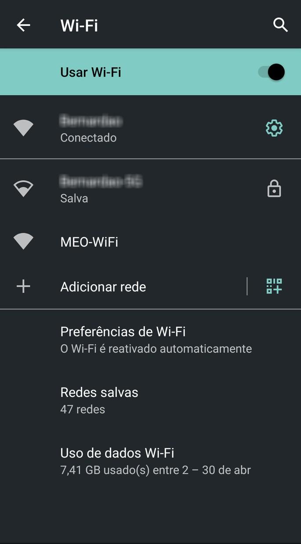 Como ativar o wi-fi no Android